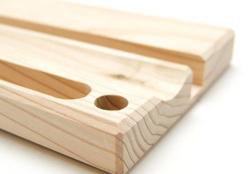木製デスク小物スタンド(拡大)