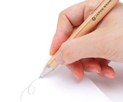 木製ボールペン|試し書き