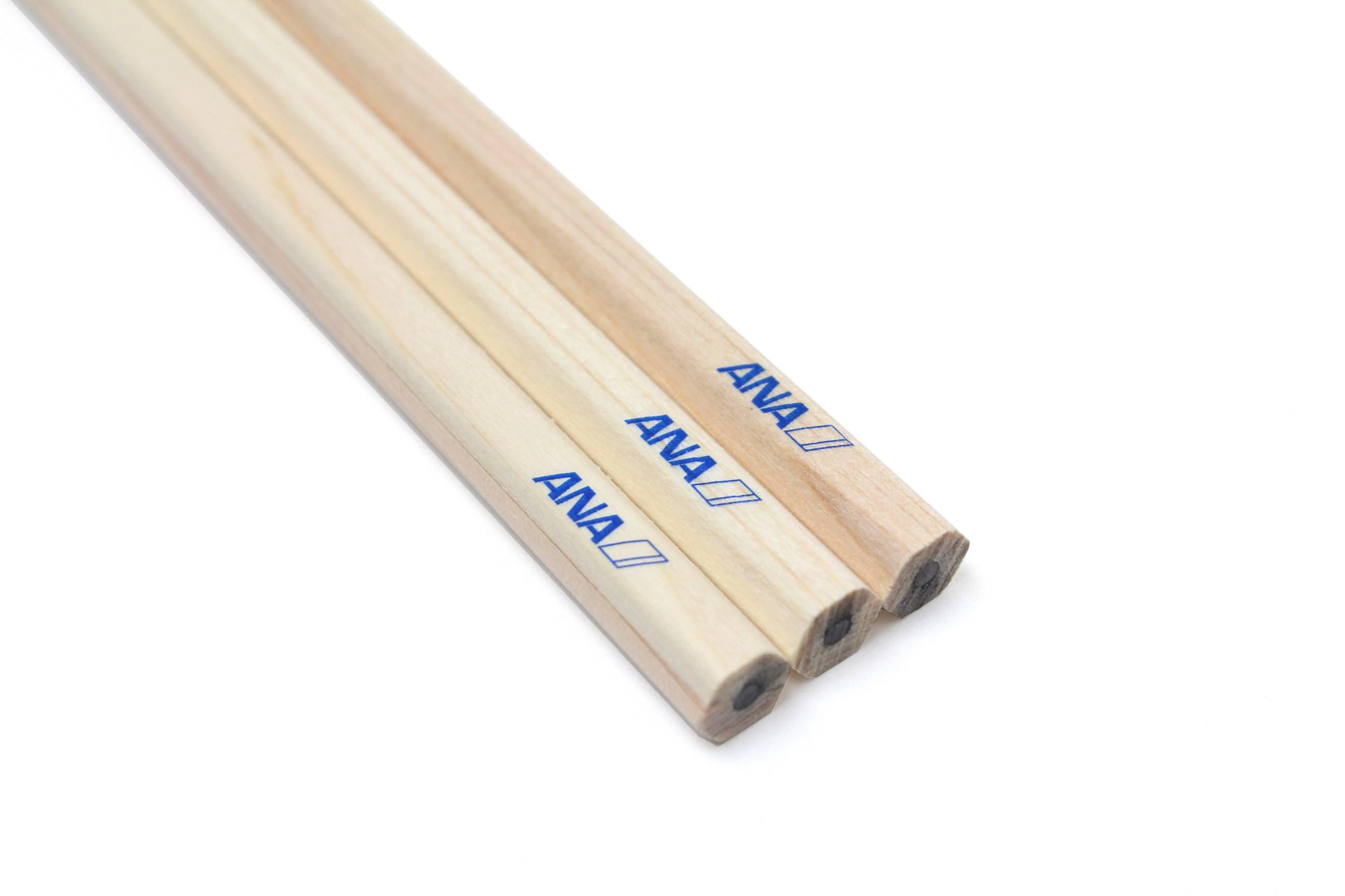 ANAホールディングス様のロゴが刻印された鉛筆