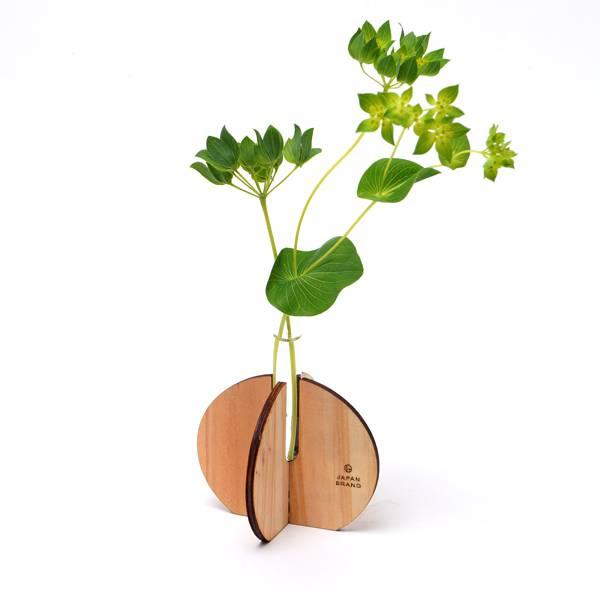 木製プチ花瓶の使用例
