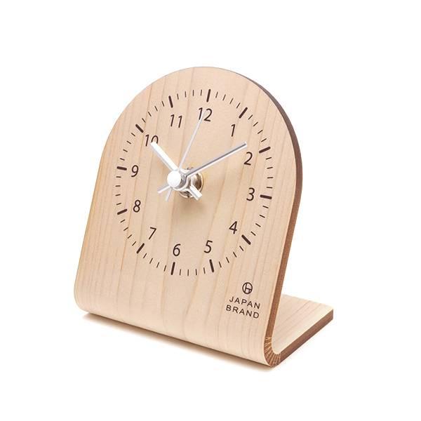 オリジナルカットも可能な卓上時計