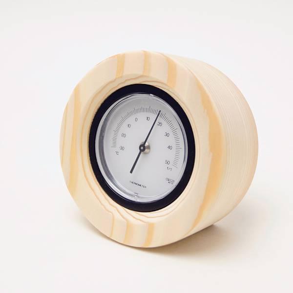 名入れができる木製温度計