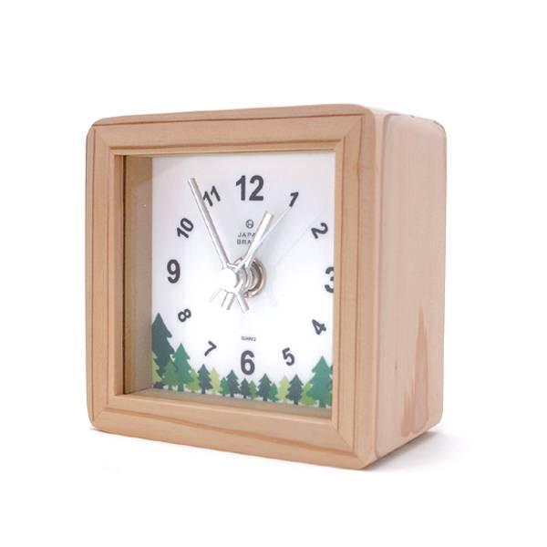 木製置き時計ノベルティ2