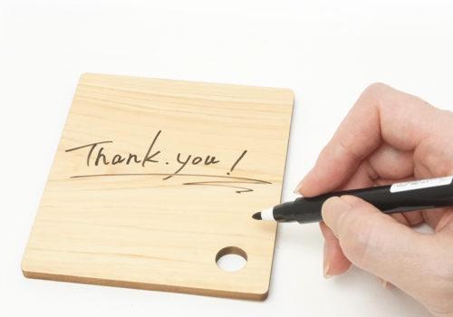 木製メッセージボード |イメージ
