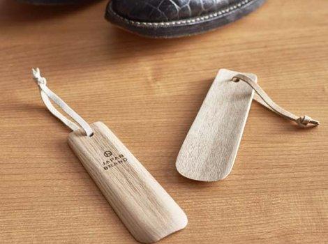 シンプルな木製靴べら