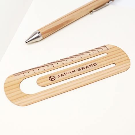 大きめの木製クリップスケール