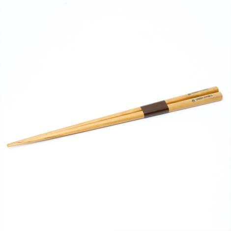 箸の持ち手部分に名入れ可能