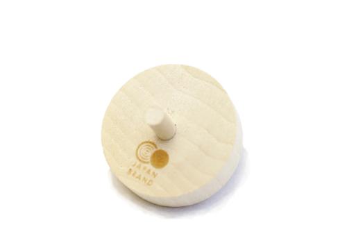 直径3cm四方と可愛らしい木製平ミニコマ